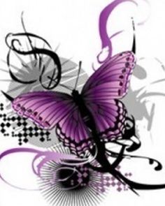 A symbol for Fibro: I'm kinda curious. I understand the purple ribbon, but does anyone know how the purple butterfly got associated with Fibromyalgia? The Purple, Purple Stuff, All Things Purple, Purple Rain, Shades Of Purple, Purple Glitter, Purple Ribbon, Magenta, Butterfly Kisses