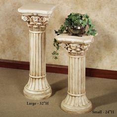 Dinning Rooms On Pinterest Pedestal Columns And Brown