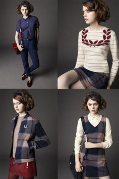 Nicoll's debut collection for Fred Perry
