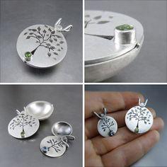 Handmade Lockets by Beth Millner