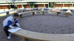 Image result for australian aboriginal yarning circle garden