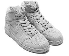 Détails sur Nike Air Jordan 1 Retro Mid kaws COOL GREY SUEDE T 41 Top Baskets 332550 31 afficher le titre d'origine