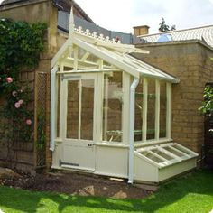 Lean To Glasshouse | Duckmanton Hardwood Glasshouses - Greenhouses | Trewoon, St Austell, Cornwall
