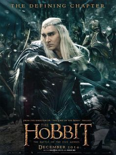 The Hobbit - Battle of the Five Armies - Poster - Thranduil