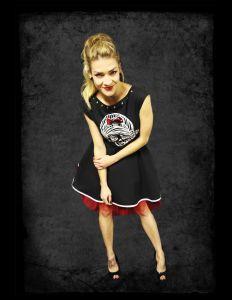 Originální šaty ve stylu rockabilly, rockandrollu, punku. Záleží na Vás jak to pojmete, jestli chcete být za dámu nebo rebelku v těžkých botách. Rockabilly, Pin Up, Punk, Punk Rock, Rock Style