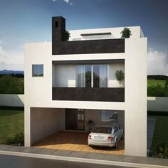 Our Top 10 Modern house designs – Modern Home Modern House Facades, Modern House Plans, Modern Architecture, Duplex House Design, Modern House Design, Minimalist House Design, Minimalist Home, Loft, Building Design