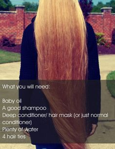How To Grow Your Hair OVERNIGHT! :) #Fashion #Beauty #Trusper #Tip