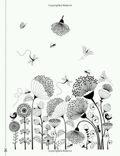 Love You Mum: Doodle & Dream: A beautiful and inspiring adult coloring book for … - Top 99 Pencil Drawings Doodle Art Drawing, Zentangle Drawings, Art Drawings, Zentangles, Pencil Drawings, Doodle Patterns, Zentangle Patterns, Arte Sharpie, Floral Doodle