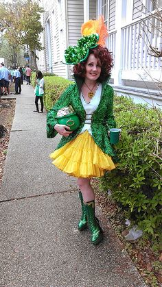 1d30bf4c75005 St. Patrick s Day parade in the Irish Channel (photo by Carlie Kollath  Wells   · St Patrick s Day CostumesIrish ...