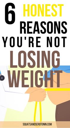 We've all been there. We've all asked ourselves the question 'why am I not losing weight'. Honestly, there are a few reasons you're not losing weight, even if you find new ways to burn calories and you're on low carb diet. Weight loss, especially losing w Lose Weight Fast Diet, Weight Loss Snacks, Weight Loss Drinks, Losing Weight Tips, Fast Weight Loss, Weight Loss Tips, How To Lose Weight Fast, Healthy Weight, Fat Fast