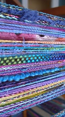 Barefootweaver: Monet's Garden Dress Scarf