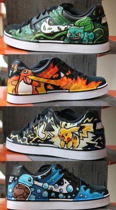 Nerd Craft: Pokemon Kicks OH MY! Gage would LOVE these