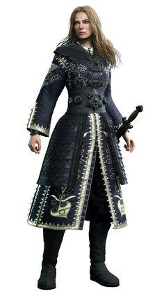 Elizabeth Swann from Kingdom Hearts III