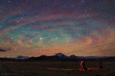 Airglow Ripples over Tibet