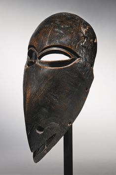 Chokwe Bird Mask, Angola | lot | Sotheby's  Starting in 1958 and over the next three decades, Carlo Monzino (March 14, 1931 - October 8, 1996) formed an outstanding collection of Modern painting and African sculpture which is revered to this day as one of the best of its kind ever assembled. In the early 1960s, Monzino managed to acquire a large group of works from the estate of British sculptor Sir Jacob Epstein, an artist from the circle of Picasso, Matisse and Moore, including the iconic…
