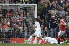 Daley Blind scores the opening goal