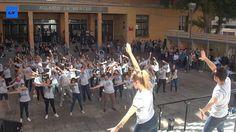 Con motivo de la inauguración de la Bienvenida Universitaria (BUM) del curso 2014-2015, la Universidad de Murcia y sus alumnos quisieron prestar su apoyo a la campaña Ahora no podemos parar, con la que UNICEF Comité de Murcia quiere llamar la atención sobre la importancia de la Ayuda Oficial al Desarrollo (AOD) en cuestiones como la supervivencia y el desarrollo infantil.   http://www.laverdad.es/murcia/201410/14/baile-solidario-contra-pobreza-20141014165735.html