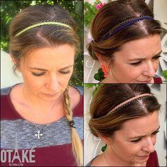 Headband Bijoux de tête Bandeau cuir pour par ValouParisIzmir