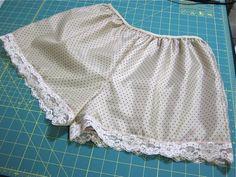 make a custom pair of tap pants