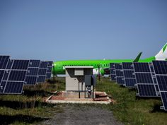 An airport in South Africa has become the first facility on the African continent to run entirely on solar power. George Airport, in the south of the country,  is powered by a nearby solar generator - allowing its check-in desks, baggage carousels and control towers to run as normal on renewable energy.
