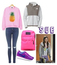 """""""The Middle"""" Sue Heck inspired outfit The Middle Sue, Dieselpunk, Lace Up Shoes, Polyvore Outfits, Peanuts, Halloween Costumes, Nerd, Fashion Looks, Skinny Jeans"""