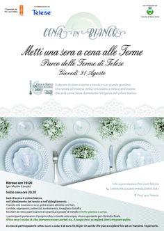 Cena in Bianco a Telese Terme