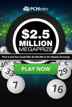 PCH Lotto I can get more from another offer and I cant wait till April you had alot winners you treat the The same way Lotto Winning Numbers, Lotto Numbers, Winning Lotto, Lottery Winner, Instant Win Sweepstakes, Online Sweepstakes, Pch Dream Home, Win For Life, Winner Announcement
