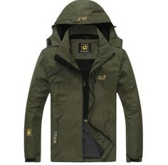 Outdoor-Technical-Tech-Men-039-s-Jacket-Rain-proof-Mountaineering-Fishing-Jacket