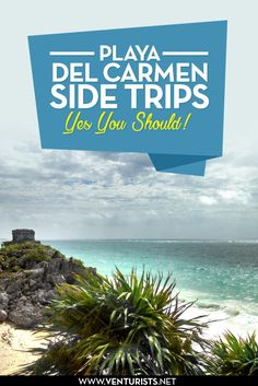 Side trips from Playa del Carmen or Cancun Mexico that you can't miss. From swimming with the sea turtles to exploring the Mayan ruins in Tulum. Click to read them all!