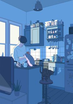 Art And Illustration, Character Illustration, Anime Scenery Wallpaper, Retro Wallpaper, Girl Wallpaper, Animes Wallpapers, Cute Wallpapers, Pretty Art, Cute Art