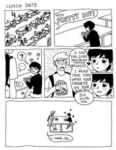 Pretty Boy comic 5 by omocat Gay Comics, Cute Comics, Funny Comics, Pretty Boy Comic, Pretty Boys, Playlists, Cute Gay Stories, Yuri, Gay Lindo
