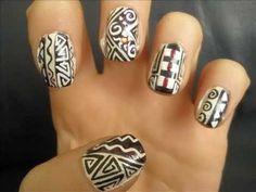 Risultato della ricerca immagini di Google per http://blondesearch.ru/img/16/16d/Nail_art_tutorial_African_art_Wzory_z_Afryki.jpg