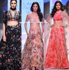 How to use old chiffon sarees in 8 fantastic ways Chiffon Saree, Floral Chiffon, Waist Skirt, High Waisted Skirt, Floral Lehenga, Anarkali, Sarees, Two Piece Skirt Set, Skirts