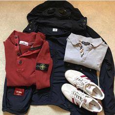 Football Casual Clothing, Football Casuals, Moda Casual, Outfit Grid, Mod Fashion, Stone Island, Stylish Men, Designer Wear, Clothing Items