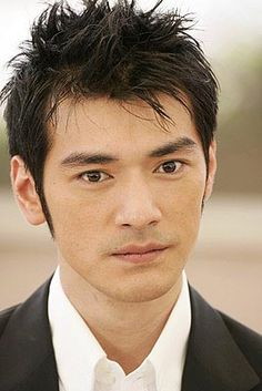 asain mens hairstyle   2011 Asian Short Hairstyle for Men with Black Hair Color for Men from ...