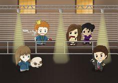 Bones : The Jeffersonian Team by XGoth-angelX