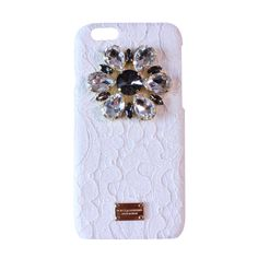 Rainbow Lace Crystal iPhone Case-Snow White