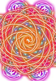 My magic doodle flower