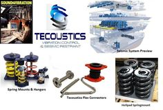 Tecoustics Ltd. offers full seismic design services including anchorage analysis on any sprinkler equipment, sway bracing layouts and more. #NoiseControl #VibrationControl http://bit.ly/tecoustic