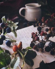 | September | Wild Berries, Black Coffee & Words