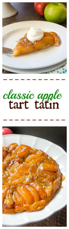Classic Apple Tart Tatin | flavorthemoments.com