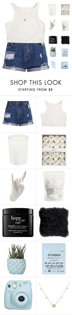 """""""queen with no crown // bella"""" by fshns ❤ liked on Polyvore featuring Elizabeth and James, Thelermont Hupton, philosophy, Chen Chen & Kai Williams, Starskin, Fujifilm and Gucci"""
