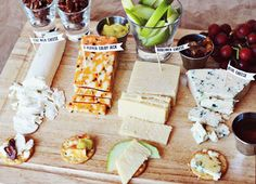 Lovely Labels for your Next Cheese Plate