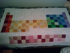 THE PERIODIC TABLE ON A QUILT! SWEET DREAMS!! :)    i wish i could quilt. i'd be all over this.