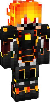 3D Fire Man | Nova Skin