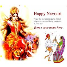 Generate happy navratri wishes quotes greeting cards whats going generate happy navratri wishes quotes greeting cards whats going on pinterest happy navratri navratri festival and durga m4hsunfo