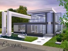 Modern Extensions home by chemy - Sims 3 Downloads CC Caboodle