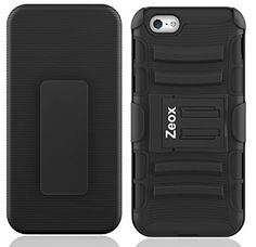 Buy Zeox Premium iPhone 6 Plus [Heavy Duty] [Dual Layer] Combo Holster Cover case securely online today at a great price. http://phonecasesfromthebest.com/iphone-6-cases/