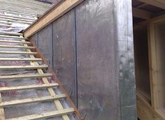 lead clad dormer - Google Search Cladding, Stairs, Loft, Construction, Exterior, Google Search, Kitchen, Home Decor, Building