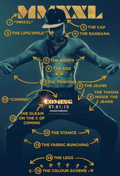 """The 15 Most Important Things About That """"Magic Mike XXL"""" Poster...just for you @tpbmama ;)"""
